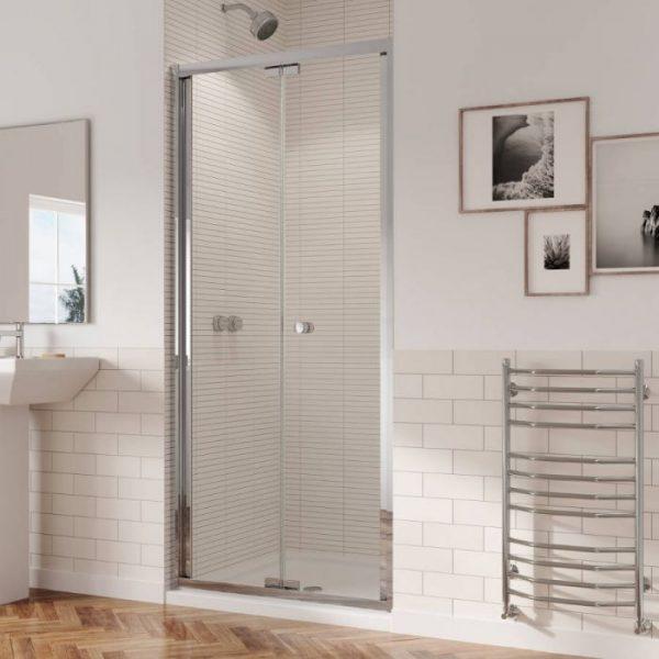 1800mm Low Height Bifold Shower Door Enclosure